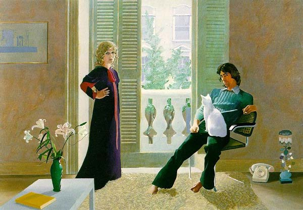 hockney mr and mrs clark and percy