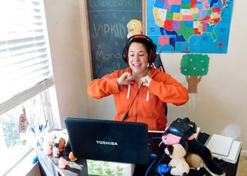 Как преподавать английский детям онлайн