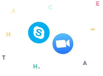 Skype или Zoom