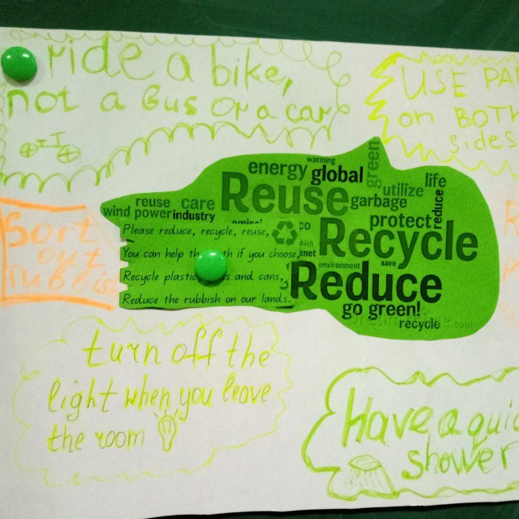 плакат на урок английского