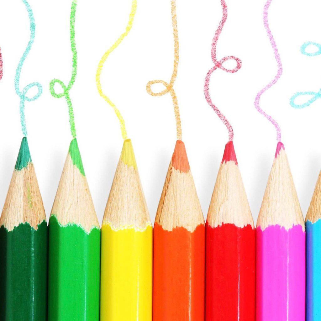 Карандаши для творческих заданий на уроках английского