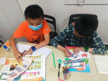 рукоделие с детьми на уроке английского