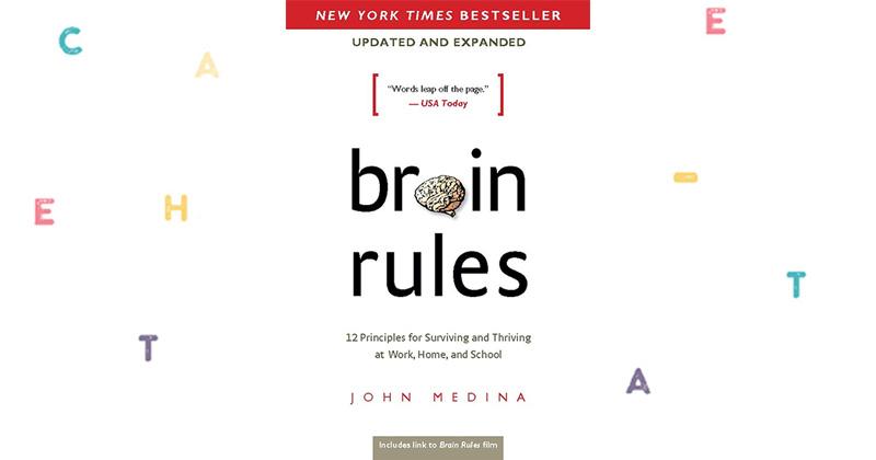 """John Medina """"Brain Rules"""""""